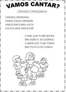 Apostila 50 Musicas Infantis Para Baixar Em Pdf Espaco Educar