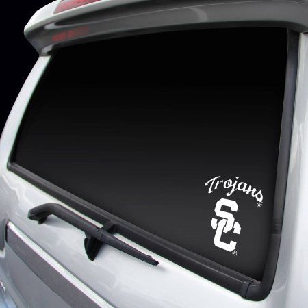 Rico Industries USC Trojans Small White Decal
