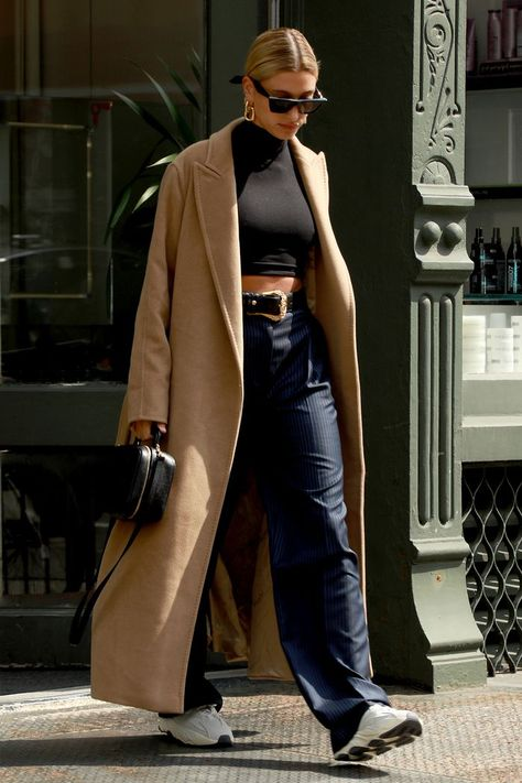 Hailey Bieber Style: Hailey has mastered the art of giving sleek separates a downtime spin