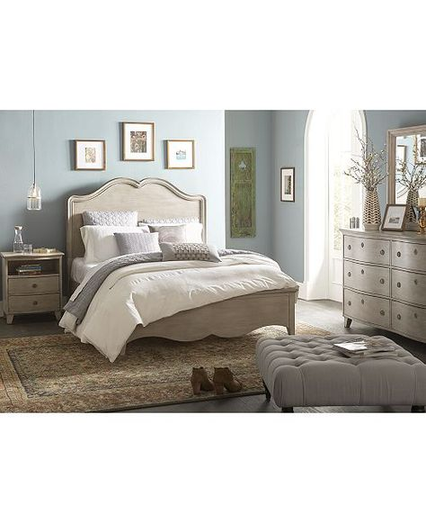 Furniture Closeout! Margot King Bed, Created for Macy's & Reviews - Furniture - Macy's