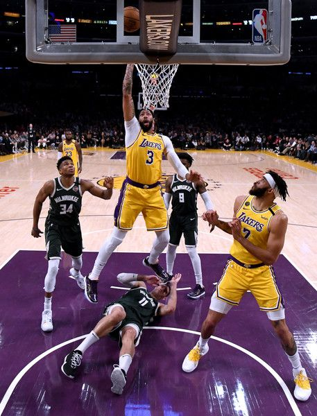 Giannis Antetokounmpo Photos Photos Milwaukee Bucks V Los Angeles Lakers In 2020 Los Angeles Lakers Milwaukee Bucks Lakers