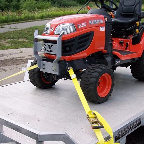 Front Tie Down Attachments For The Bx Series Tractors Tractors Tractor Accessories Kubota Tractors