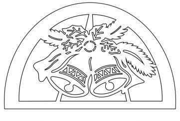 Schwibbogen Vorlage Glocken 2019 Schwibbogen