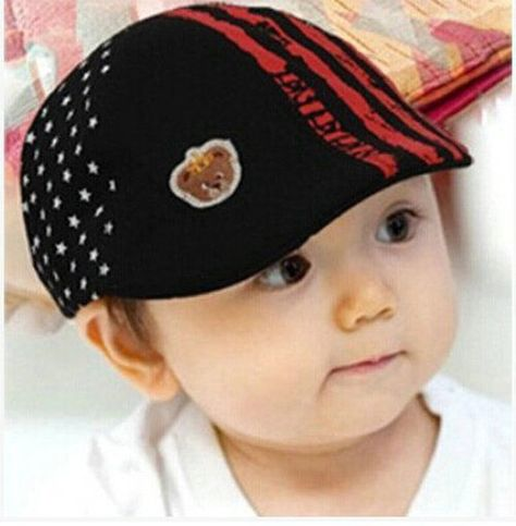 a5fb25c3a007c Cute Kid Toddler Infant Boy s Baby Girls Hat Casquette Peaked Baseball  Beret Cap