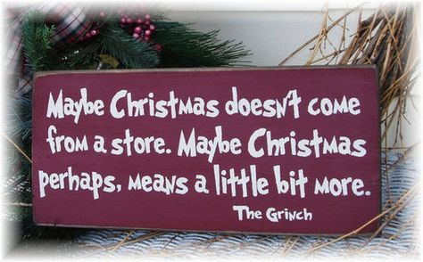 Love the Grinch.