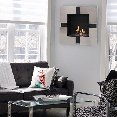 Home Improvement Wall Mounted Fireplace Ethanol Fireplace Bioethanol Fireplace