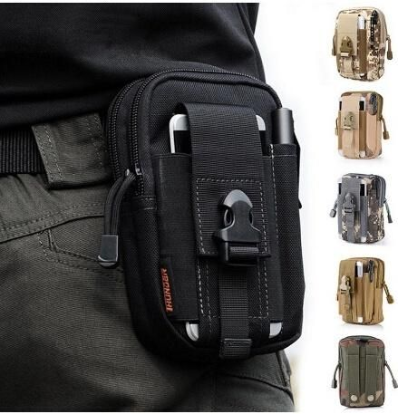 Outdoor Sport Pocket Camping Backpacks Casual Waist Pack Purse Mobile Phone Case