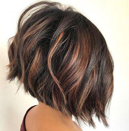 25 Bob Hairstyles For Thick Hair Bob Haircut And Hairstyle Ideas Short Choppy Bobs Thick Hair Styles Haircut For Thick Hair