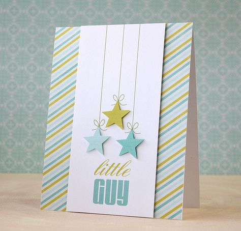 a card layout to love from @Laura : tall center panel with diagonal stripes