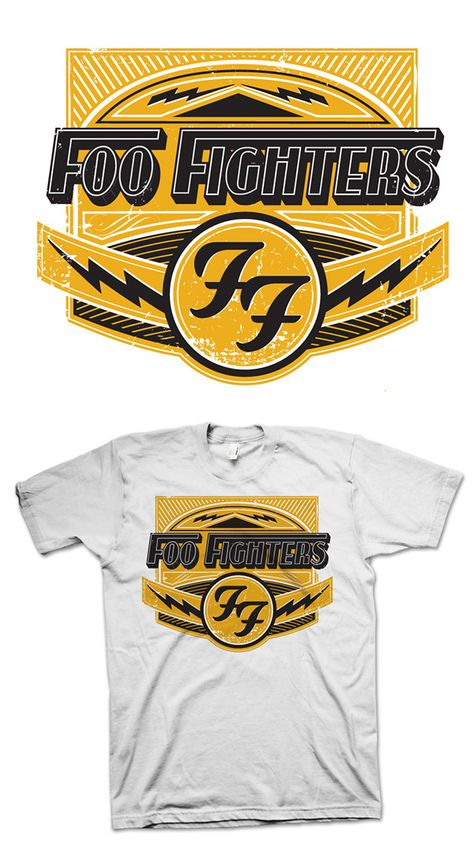 Foo Fighters Merch Design on Behance