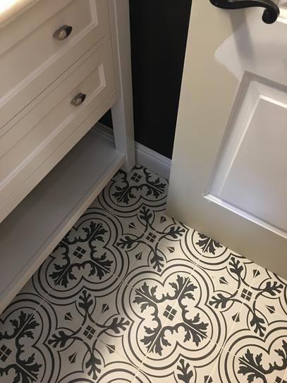 Merola Tile Take Home Sample Twenties Vintage Encaustic Ceramic Floor And Wall 7 3 4 In X Frc8twvt The Depot Flooring