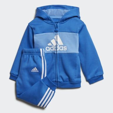 fumar Inapropiado césped  adidas Conjunto Logo Hooded Jogger (UNISEX) - Azul   adidas Mexico   Boys  tracksuits, Girls tracksuit, Jogger set