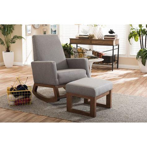 brand new c29e9 b2c7c Mistana Nola Rocking Chair | Wayfair