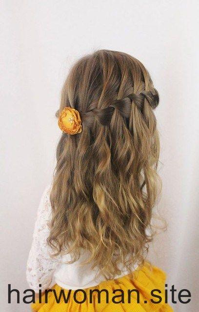 Woman Hair Style Photo Montage In 2020 Kids Hairstyles Girls Long Hair Girl Kids Hairstyles