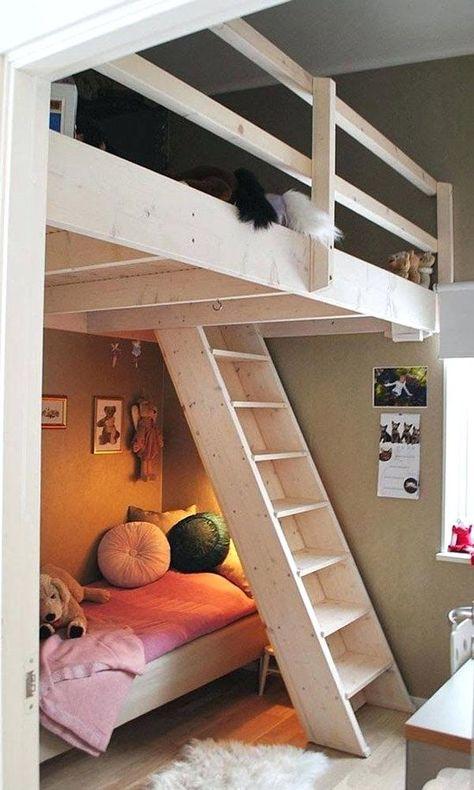 Kinderbetten Fur Kleine Zimmer Madchen Hochbetten Etagenbett