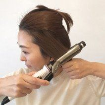 コテの選び方を教えて 19mm 38mm太さ別スタイリング方法 おすすめのコテ ベリーショート 前髪 マッシュ ベリー