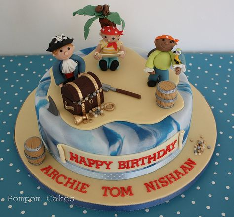 boy video games birthday cakes | pirate cake a 6th birthday cake for three little boys who are having a ...