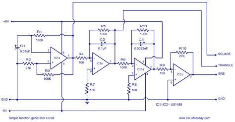 simple function generator electronics computers in 2019 rh pinterest com