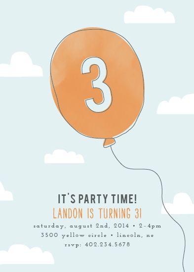 Oh Happy Day Kids Birthday Party Invitation Challenge Affiliate Affiliate Kids Birthday Birthday Party Invitations Kids Birthday Party Kids Birthday