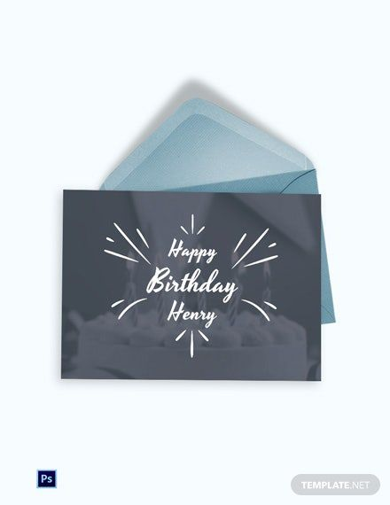 Happy Birthday Greeting Card Template Psd Template Net Greeting Card Template Birthday Greeting Cards Happy Birthday Greetings
