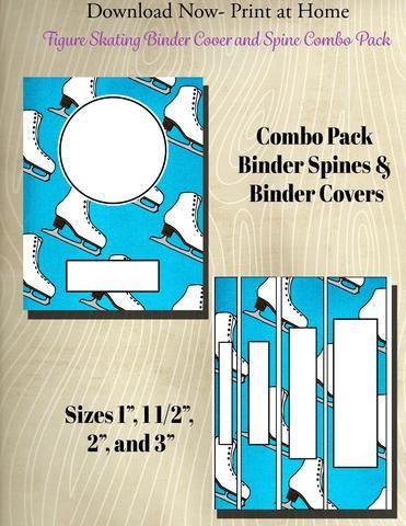 printing binder spines