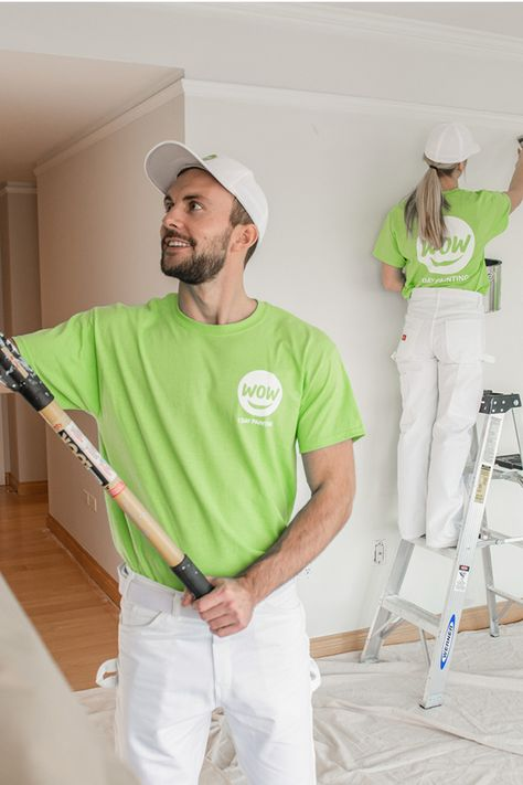 Wow 1 Day Painting Takes The Hassle Out Of Painting By Giving You The Quality You Expect In A Timeline That S Unexpe House Paint Interior Mens Tops Home Deco