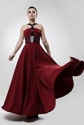 18c19b317b0 Длинные модные платья в пол