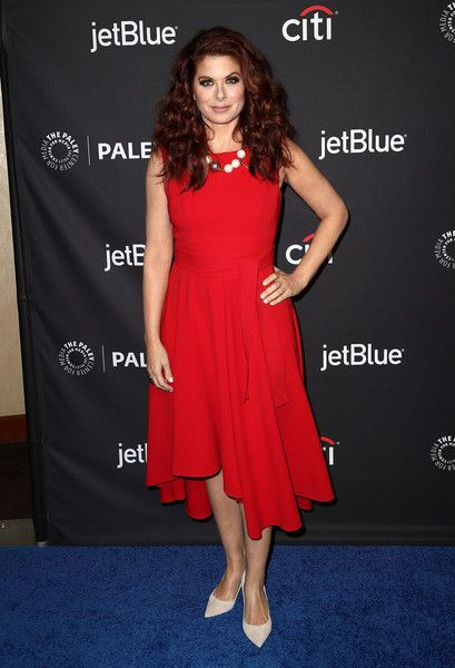 Actress Debra Messing of 'Will & Grace' attends The Paley Center for Media's 35th Annual PaleyFest Los Angeles.