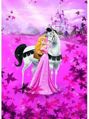 Wallpaper Sleeping Beauty Size 184x254cm Aurora Disney