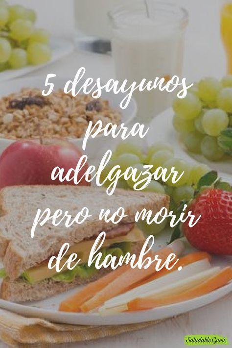 Como bajar de peso con comida saludable