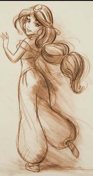 Drawing disney sketches princess jasmine 68 Ideas - #Disney #drawing #ideas #Jasmine #Princess #sketches