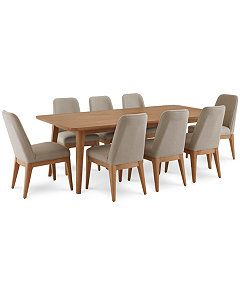 Martha Stewart Collection Brookline Expandable Dining Furniture 9