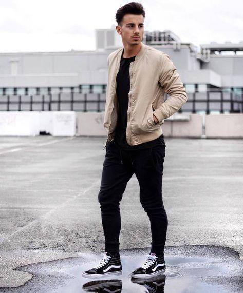 men's style vans shoes Online shopping