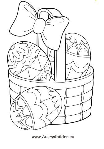 ostereier ausmalbilder kostenlos - x13 ein bild zeichnen