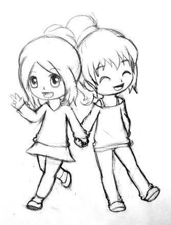 Image Result For Best Friends Drawing With Images Best Friend