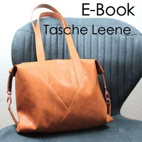 Tasche Leene, Nähanleitung und Schnittmuster bei Makerist