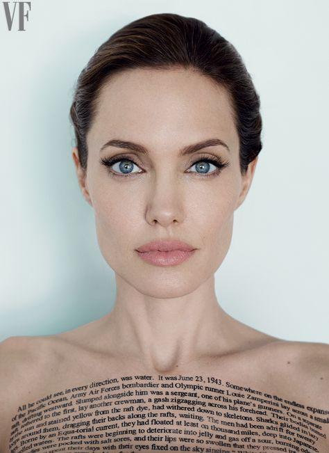 Angelina Jolie, photo by Mario Testino, Vanity Fair, 2014