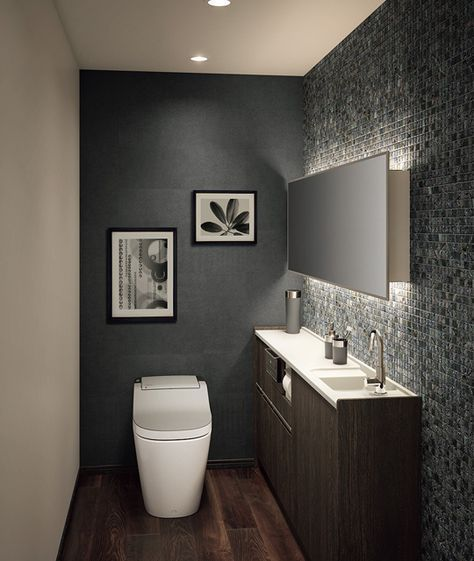 59 Simply Chic Bathroom Tile Ideas For Floor Shower And Wall Design Modern Bathroom Designs For Guest Bathroom Small Small Bathroom Tiles Small Toilet Room