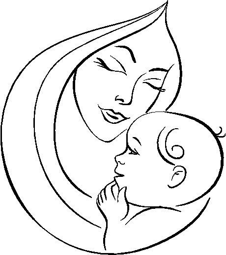 32 Dibujos Para El Día De La Madre Para Imprimir Y Colorear