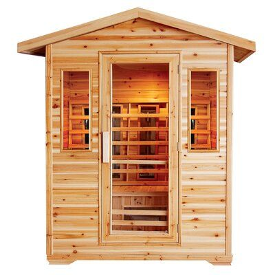 Sunray Saunas Cayenne 4 Person Far Infrared Sauna In 2020