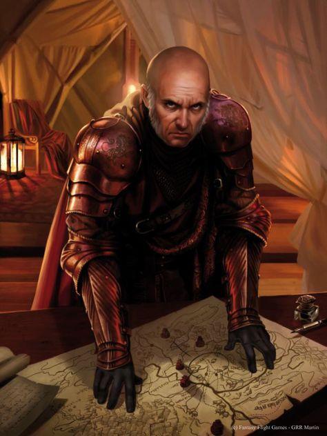 Tywin Lannister by Magali Villeneuve.