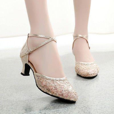 Women Dance Shoes Latin Tango Salsa