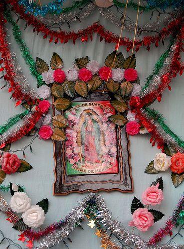 Guadalupe and Roses