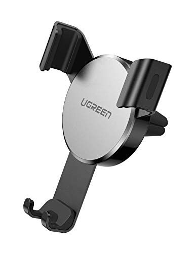 Compatible with iPhone Xs Max XR X 8 7 Galaxy S10 S9 S8 and More Auto-Clamping Hands Free Phone Mount for Car Gravity Car Phone Holder Air Vent Mount