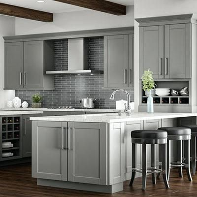 Grey Kitchen Cabinets Amazing Gray Kitchen Cabinets For Designing Inspiration With Gray Kitchen Kitchen Cabinet Interior Kitchen Remodel Grey Kitchen Cabinets