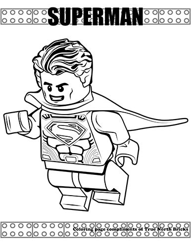 Superheroes Reviews True North Bricks Lego Coloring Pages Superman Coloring Pages Coloring Pages