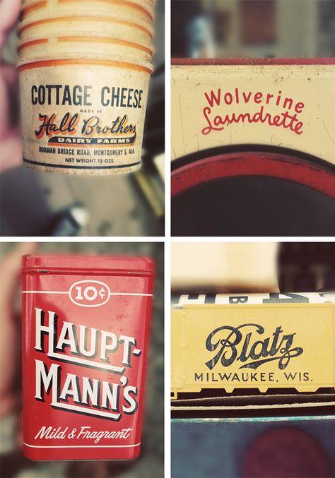 vintage type ::: type hunting