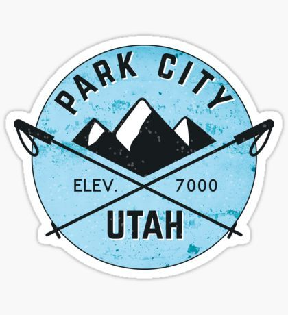 Ski Stickers Whistler Park City Utah Park City