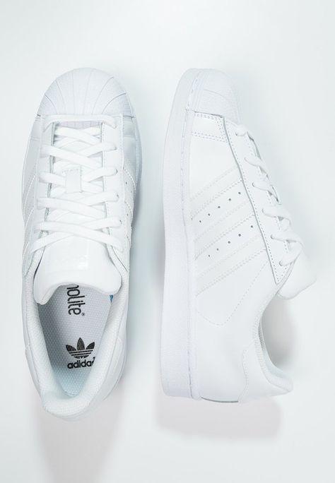 new styles online shop fashion styles SUPERSTAR FOUNDATION - Matalavartiset tennarit - white ...