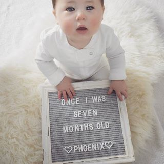 What Letterboard I Can T Get Past Those Adorable Cheeks Phoenix Is Such A Little Monthly Baby Pictures Baby Milestone Photos Baby Milestones Pictures